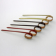 Flexible size decorative attractivebamboo knot skewer for party