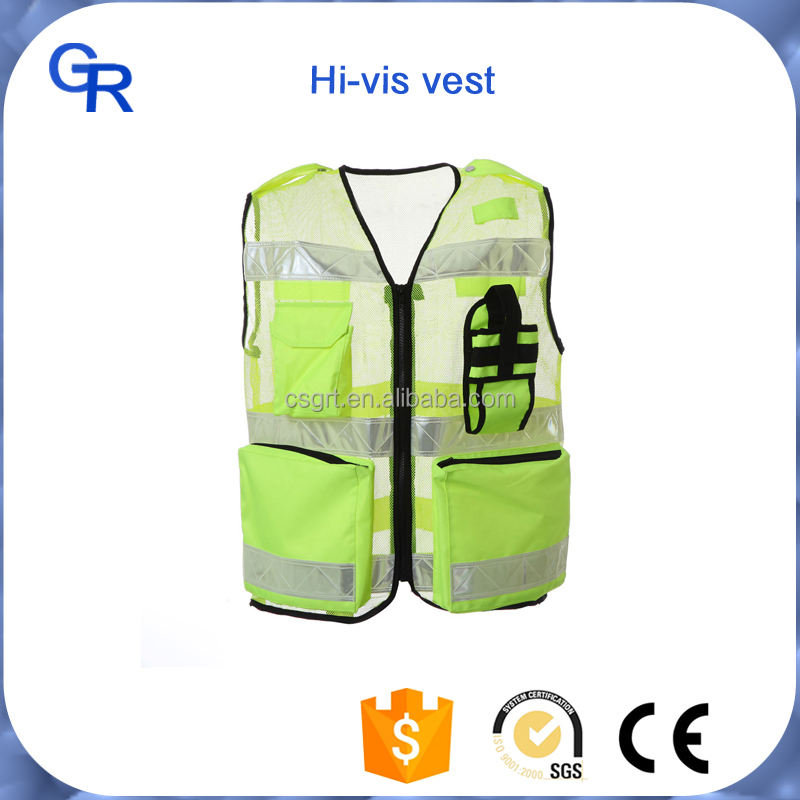 black safety vest with pockets,yellow hi vis vests,safety coats reflective