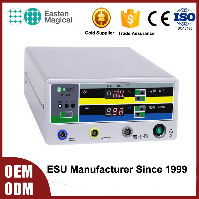 Low Temperature RF Surgical Unit 4.0mhz Surgery Apparatus