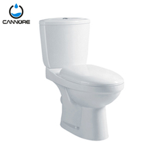 Modern European Style Gravity Sanitary Ware Two Piece Toilet