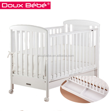 Doux bebe new model baby cot with eco-friendly, baby cots standard size