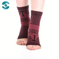 Good quality magnetic healthy sports elastic ankle support
