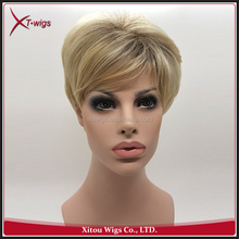 Cheap Short Hair Natural Looking African American Wigs