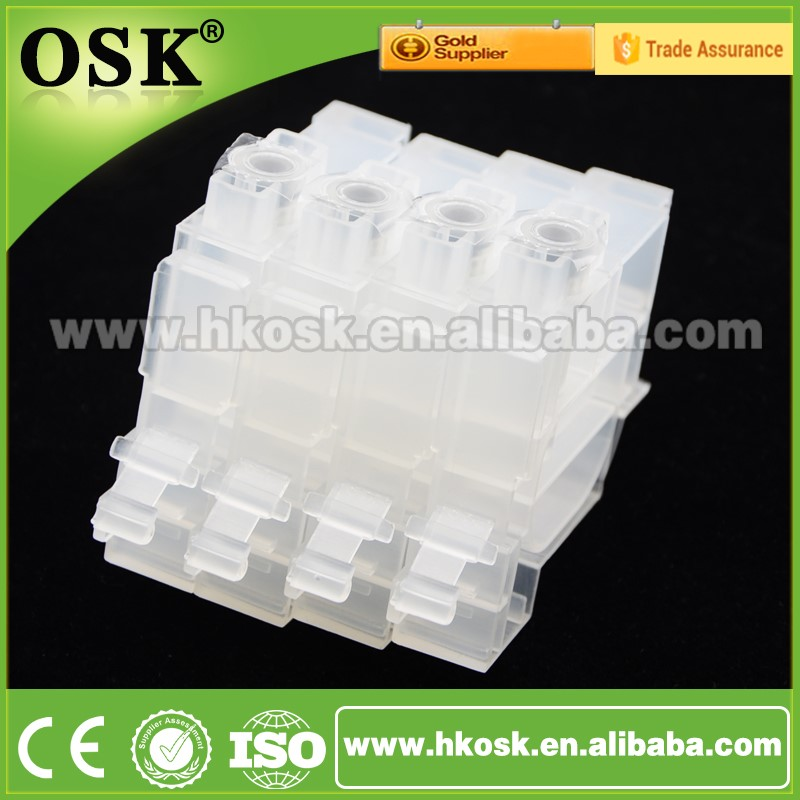 Refillable ink cartridge for Epson L550 L551 L555 ciss ink cartridge