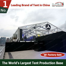 10m aluminum circus tents for sale with transparent windows