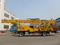 BZCT400SZ trailer mounted reverse circulation rotary drill rig 400mhole depth 500mmhole diamter water well drilling rig hot sale