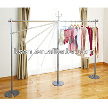 Hot Selling Folding Portable Metal Clothes Drying Rack KC-R163