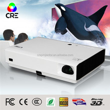 CRE X3000 20000 hours dlp laser portable mini multimedia projector hd 3d led with wifi manufacturer