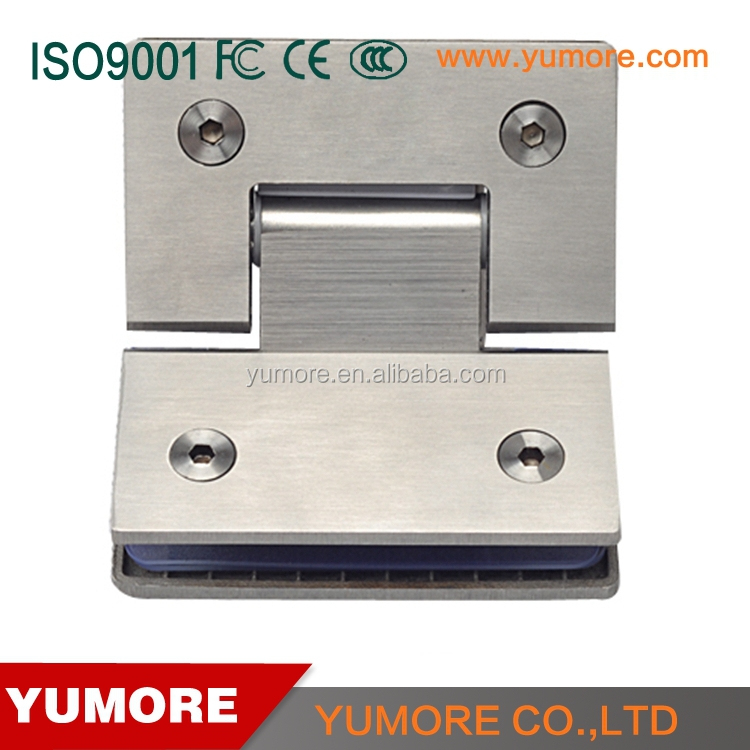 Hot selling stainless steel clamp adjustable cabinet glass clips
