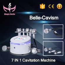 Portable Cavitation Machine/7 handles Vacuum RF Slimming Machine for Home Use