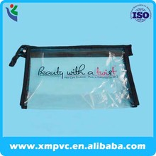 pvc small handle bag with stitching zipper XYL-Q-S015