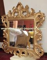 Carving Jepara - Wall Mirror Furniture - Jepara Mahogany Wood