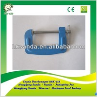 """3"""" flat steel C clamp for Japanese market"""