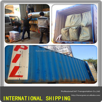 Overseas Shipping Container from Foshan to South Africa