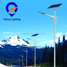 6m pole 12v high brightness Photovoltaic cell 40w solar led street light