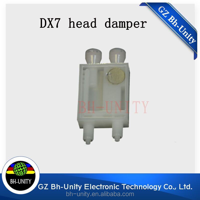 top quality eco solvent dx7 print head ink damper for xenons wit color digital printer spare part