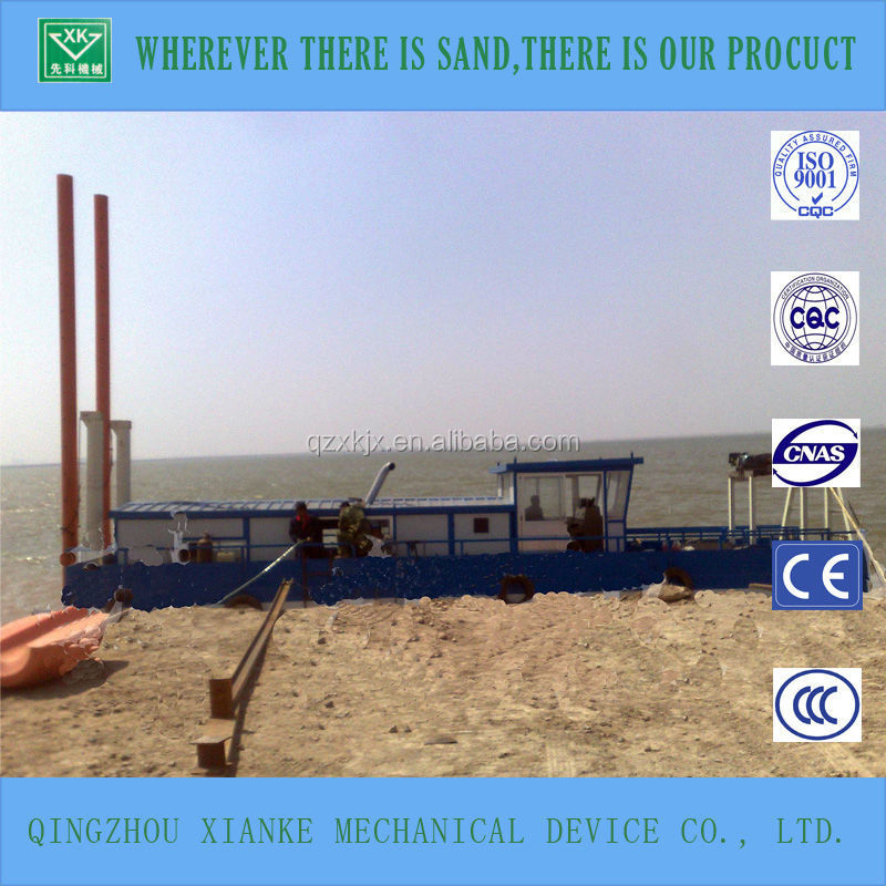 Hydraulic Cutter Suction Sand Pumping Ship/Dredger