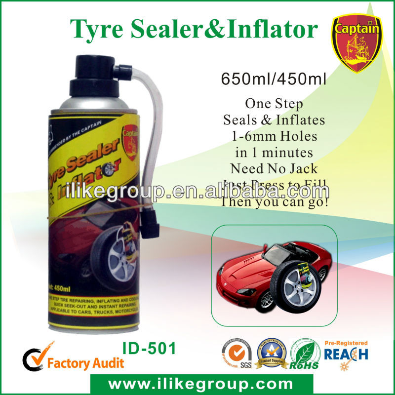 high quality auto tyre inflator sealer for emergency use