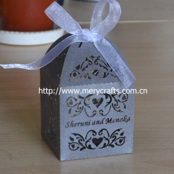China Cheap Lembrancinha De Casamentolaser Cut Wedding Favour Boxes