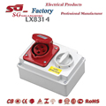 MULTI FUNCTION INDUSTRIAL SOCKET AND PLUG WITH INTERLOCK SWITCH