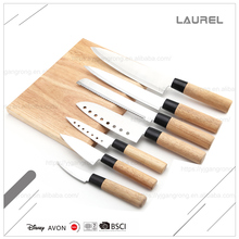 Fashionable design kitchen Japanes style stainless steel carving knife