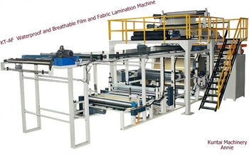 KT-AF Waterproof and Breathable Film and Fabric Lamination Machine