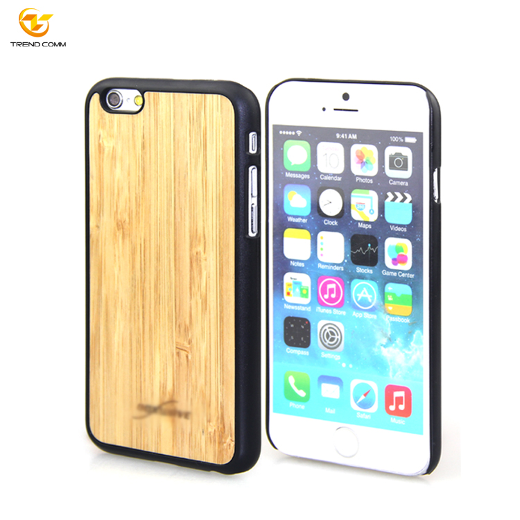 Blank PC Wooden Case for iPhone 6 Can Do Designs