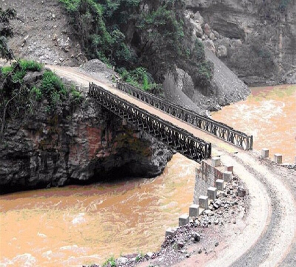 China factory gold supplier wholesale widely used Steel Bailey Bridge for construction on hot sale
