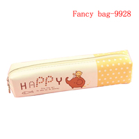 Cute custom printed small pencil bag case for girls