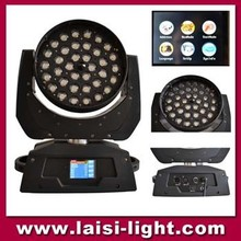 LED 36*18W Stage Lighting RGBWAUV 6IN1 Zoom LED Moving Head Wash, LED Wash Moving Head ZOOM