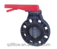 PVC Butterfly Valve Lever Operated