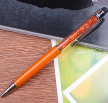 New style logo printing diamond crystal metal ball-Point pen