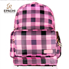 14 inch Waterproof Nylon Plaid Double Business Laptop Travel Bag