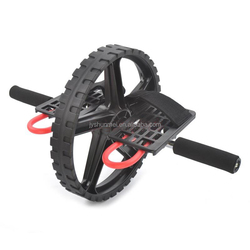 Exercise wheel power roller AB wheel