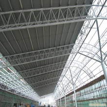 galvanized steel frame made long-span steel structural buildings