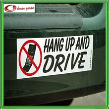 car vinyl wrap printed bumper sticker with your design