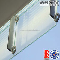laminated glass for building flashing board