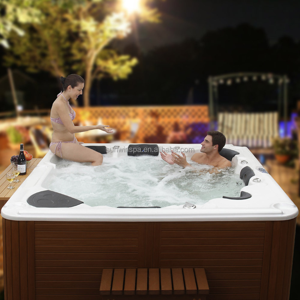 Romantic Hot Sale Balboa Outdoor Spa Hot Tub Jacuzzi Function