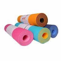 private label exercise equipment low price travel mat thin