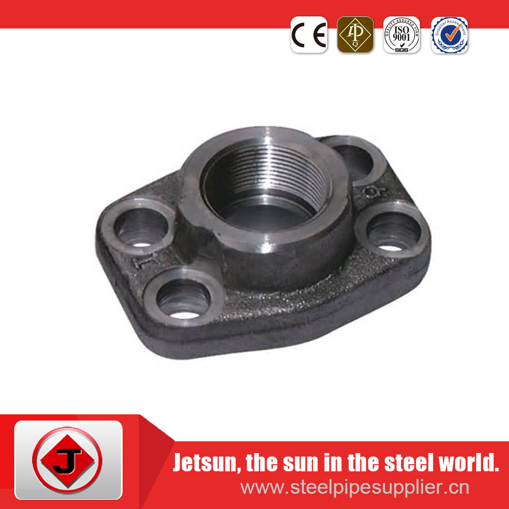 ansi GOST CS CT20 Forged Carbon Steel Threaded Flange