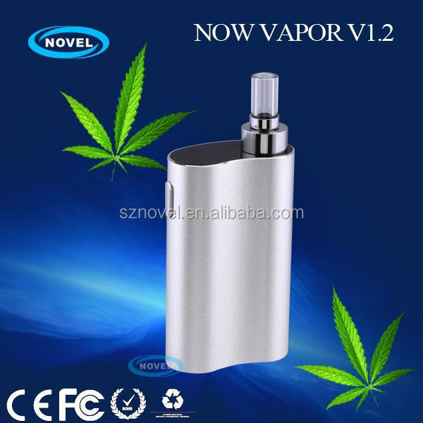 Say no to harmful byproducts, fully aluminum vaporizer disposable wax vaporizer with ceramic chamber and glass mouthpiece