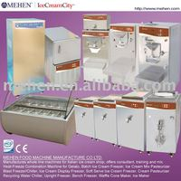 Cream & Water-Based Gelato Ice Cream Machine (CE approved)