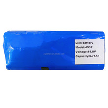 14.8V 6.75Ah 18650 4s3p us18650v3 2250mAh cell rechargeable li-ion battery pack