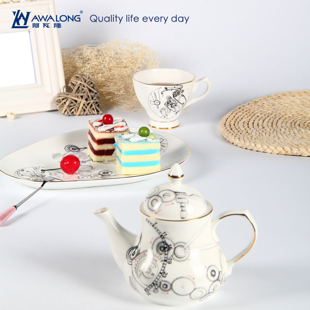 Newly designed afternoon tea sets for tableware / Grace tea ware for one person