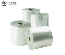 Transparent stretch pet film jumbo roll 50micron