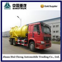 Sinotruk howo 20m3 Vacuum Tanker 5000 L Sewage Suction Tank Truck