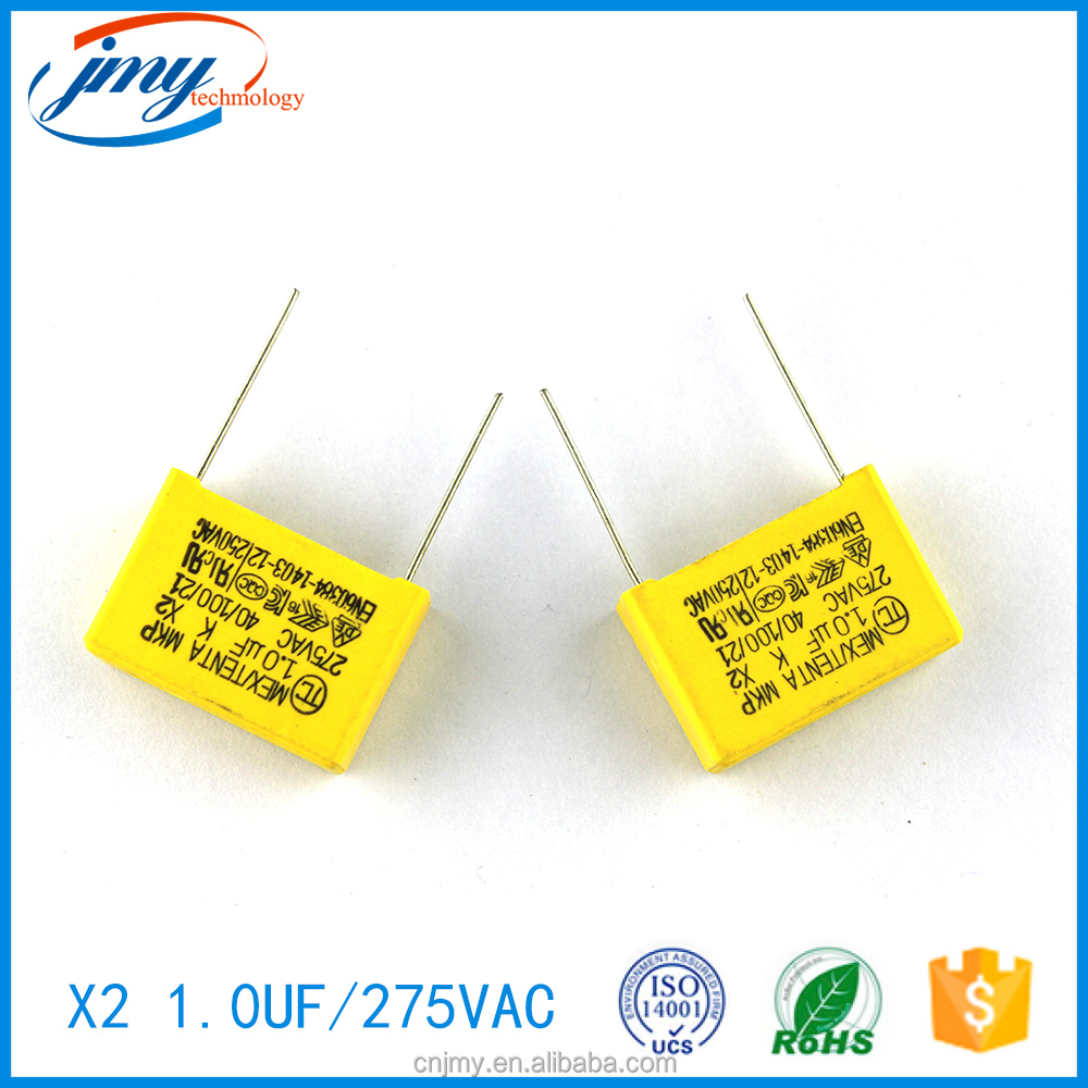 Good price capacitor 1uf 275v with CE&ISO