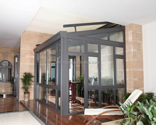 Hot sale aluminum profile frame sun room glass sun room china supplier