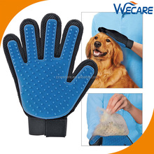 Pet Grooming Glove Brush Mitt Shedding Glove Tool Pet Massage Glove Bathing Brush Comb for Dogs Cats Horses Bunnies