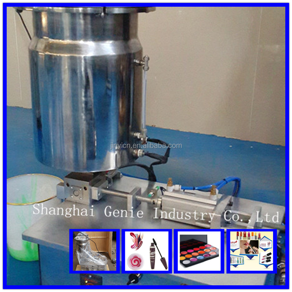 Model TSF TABLE-TOP cosmetic filling machine for lipstick/lip oil/mascara